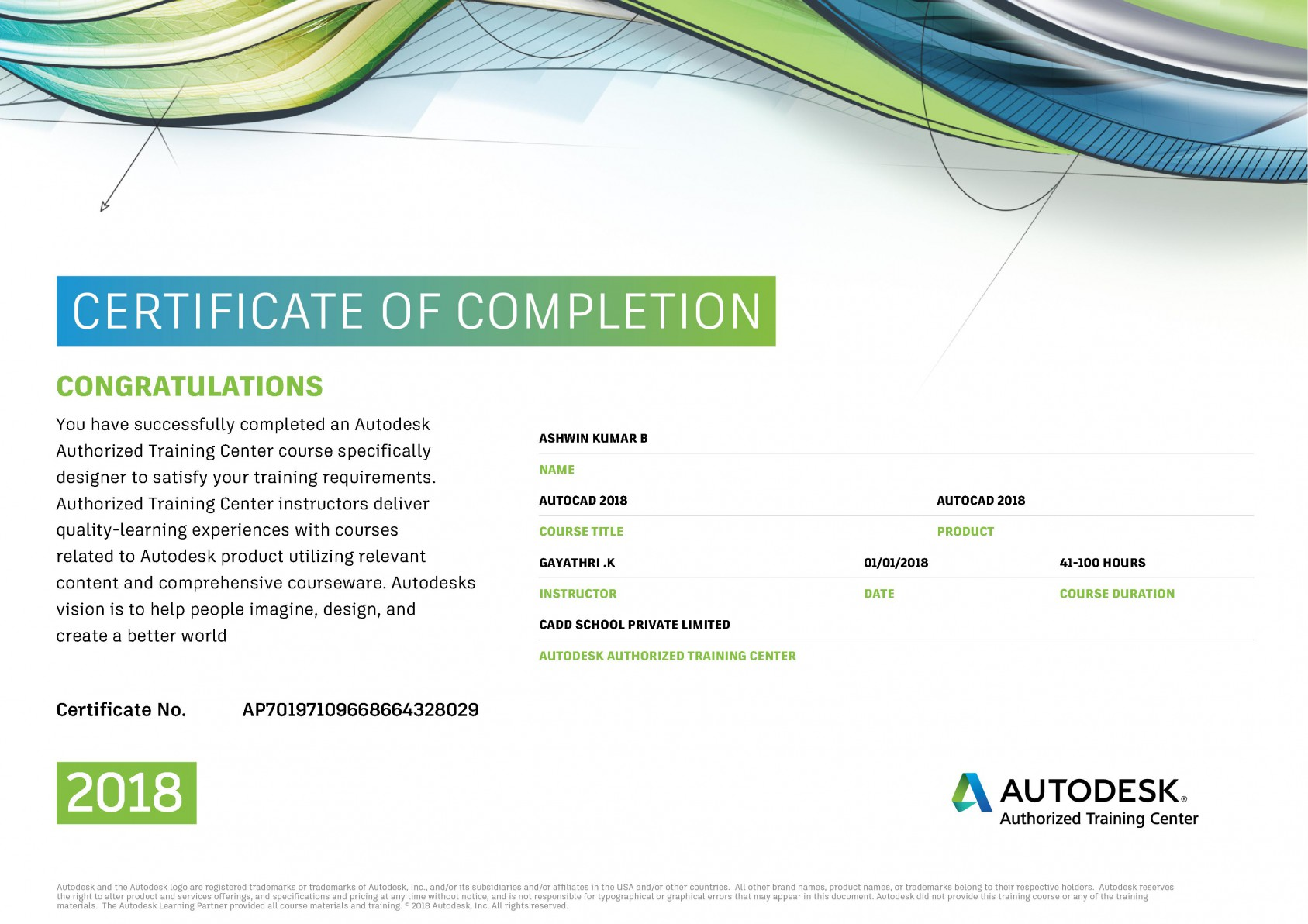 Ansys Certificate
